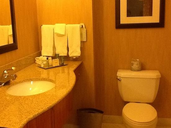 Hilton Shreveport:                   Bathroom