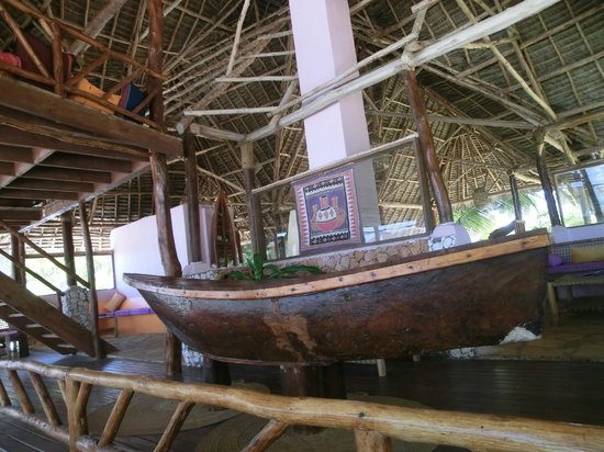 Villa Dida:                   Un angolo del ristorante