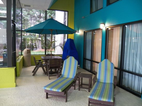 Hampton Inn Asheville - Tunnel Road:                   Pool area