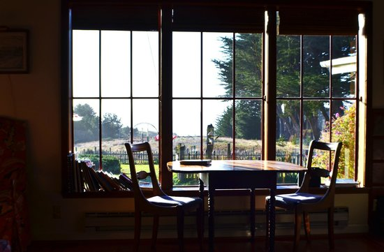 Fensalden Inn:                   view from dining room
