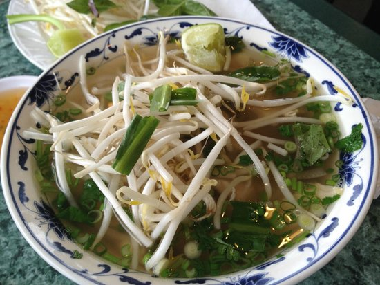 Viet House:                   White meat Chix Pho