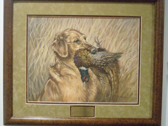National Bird Dog Museum:                   all business