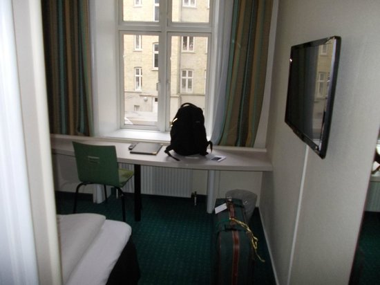 Copenhagen Star Hotel:                   Vista de la mesa