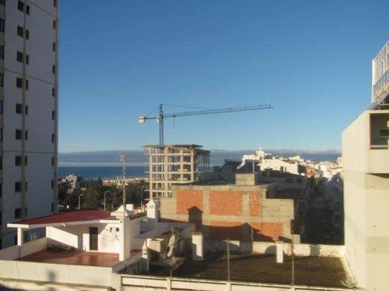 Hotel Apartamento Foz Atlantida:                   Vistas desde la habitación