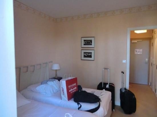 Hotel Meysset :                                     la chambre