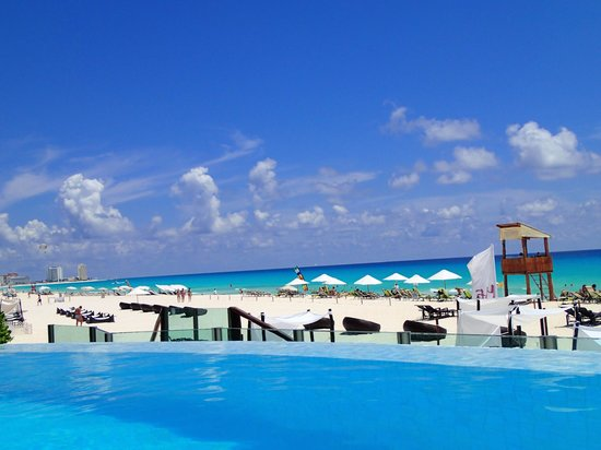 ME Cancun:                   The Beach Club / Adults Pool Area