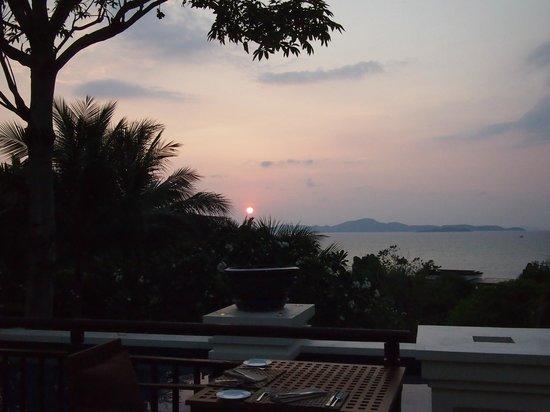 Elements :                   Nice sunset dinner