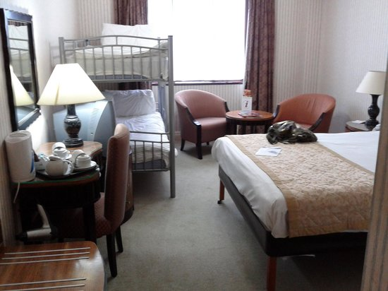 Britannia Country House Hotel & Spa:                   our room