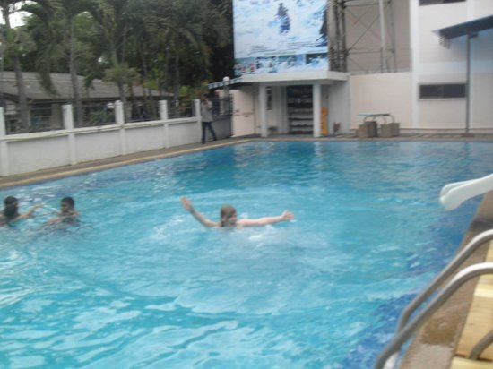 B.M.P. Residence:                   Swimming pool with slide