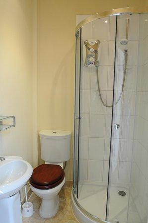 Number 17 Bath:                   Shower, toilet, sink                 