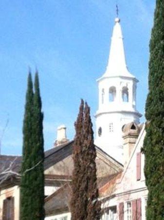 Ed Grimball's Walking Tour of Historic Charleston:                   Picture taken on the tour