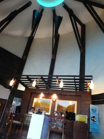 تيمبر هاوس أو نانج:                   reception area..love the design                 