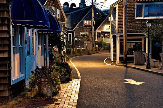 Perkins Cove at dawn
