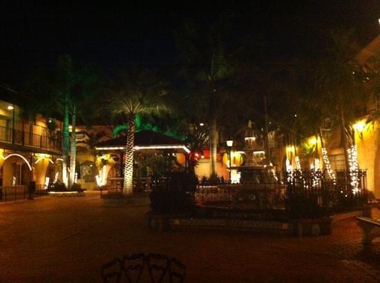 Mi Pueblo:                   the restaurants courtyard