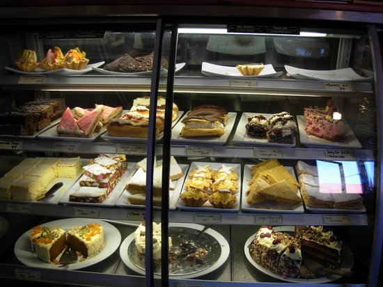 The Broadway Tearooms and Bakery:                   Cakes and sweet treats