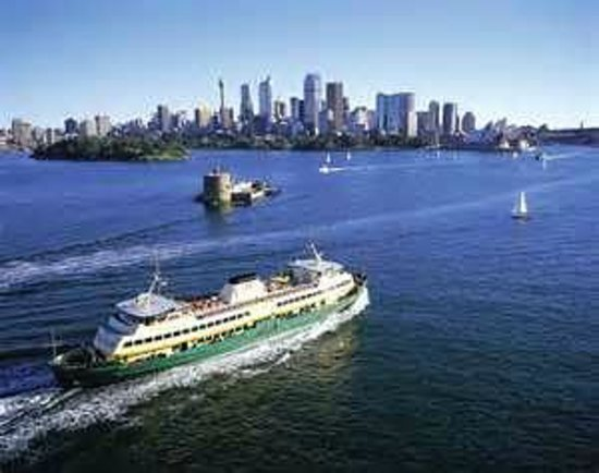 Sydney Ferries Manly Ferry En Route To Circular Quay
