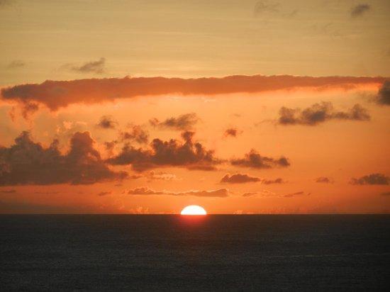 Villawellness St. Lucia :                   Sunset from the terrace Villa Wellness St Lucia