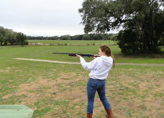 BlissWood Bed and Breakfast Ranch:                   Trap Shooting