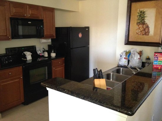 Lake Buena Vista Resort Village & Spa:                   Kitchen room 5805