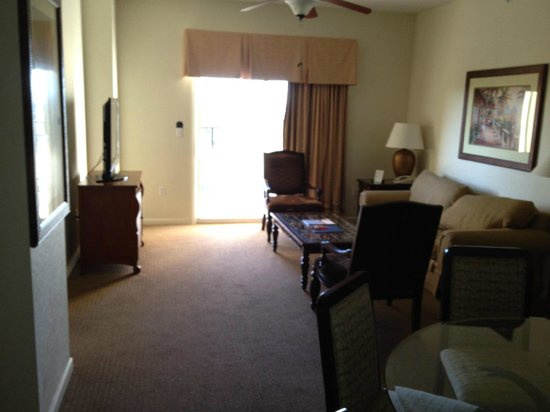 Lake Buena Vista Resort Village & Spa:                   Living room room 5805