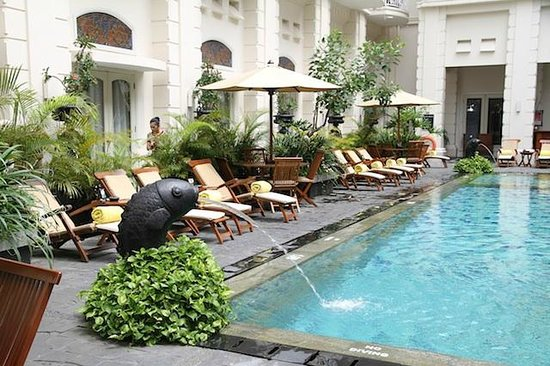 The Phoenix Hotel Yogyakarta - MGallery Collection:                   Pool area 2