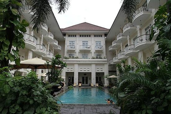 The Phoenix Hotel Yogyakarta - MGallery Collection:                   Pool area 1