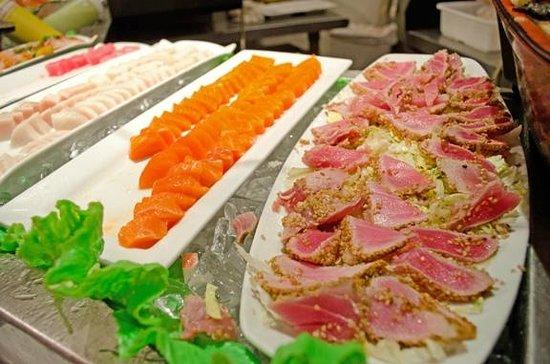 Kyojin Japanese Buffet:                   Fresh, fresh, fresh