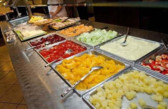 Kyojin Japanese Buffet:                   Conventional desserts