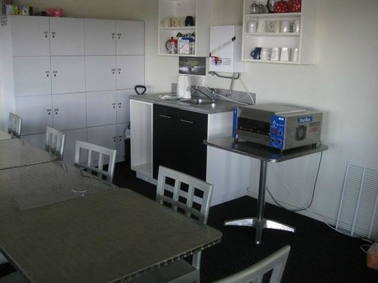 Silver Fern Lodge:                   shared kitchen