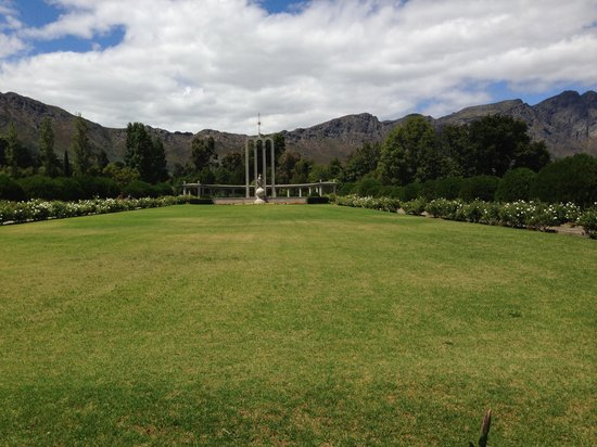 Franschhoek, South Africa:                   Monument