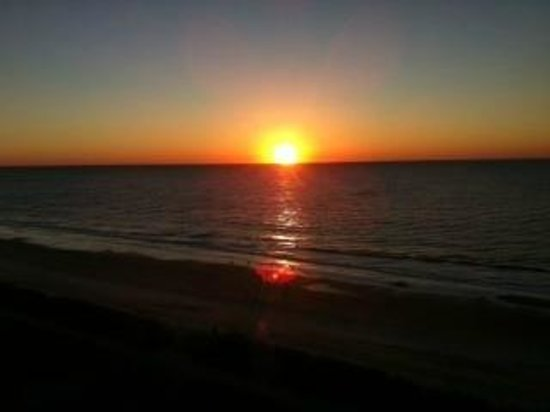 Ocean Park Resort, Oceana Resorts:                   Sunrise from the balcony!