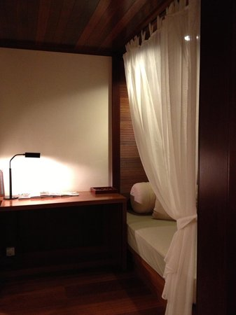 Tanjong Jara Resort:                   the single bed