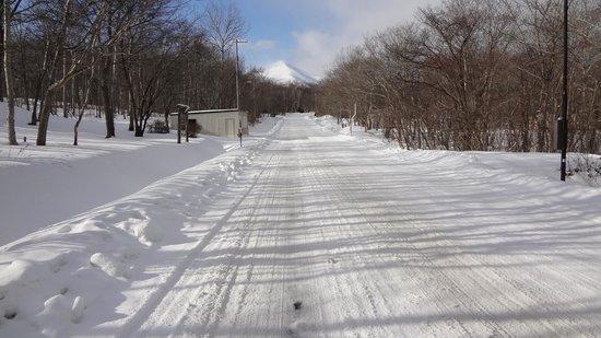 Minami Hokkaido Shikabe Royal Hotel:                   ホテルから徒歩10分くらいのところの様子