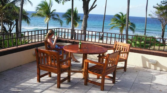 Renaissance St. Croix Carambola Beach Resort & Spa:                                     seating at the bar
