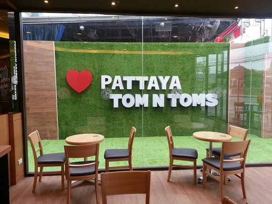 Red Planet Pattaya: TOM N TOMS Coffee Shop