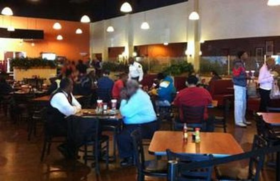 Potter's House Soul Food Bistro Southside:                                     dinning rm