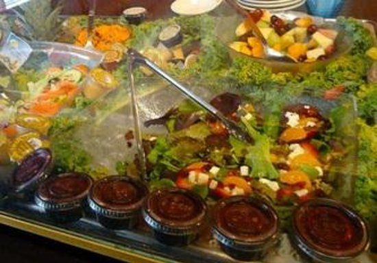 Potter's House Soul Food Bistro Southside:                                     salads