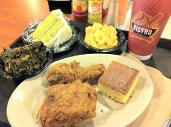 Potter's House Soul Food Bistro Southside:                                     fried chicken