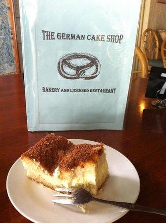The German Cake Shop:                                     Beesting Cake