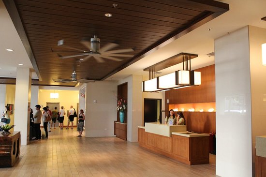 Hyatt Place Waikiki Beach:                   reception