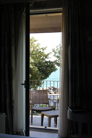 Park Hotel:                   View from our room