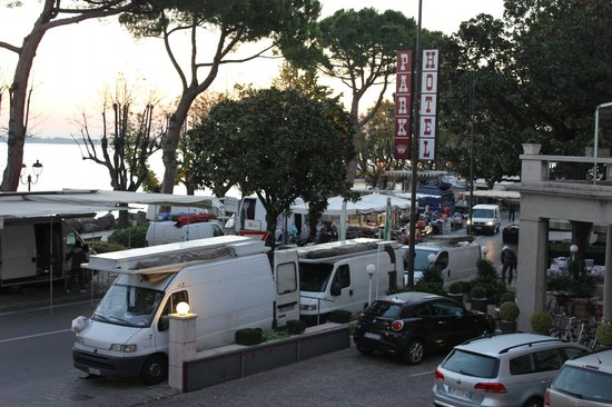 Park Hotel:                   View from our room Sunday Market