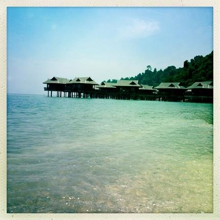 Pangkor Laut Resort:                                     The Spa Villas