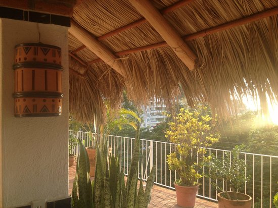 Casa de los Arcos:                                     Outdoor Palapa Bar