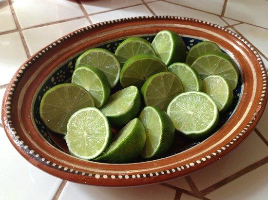 Casa de los Arcos:                                     Limes for Margaritas