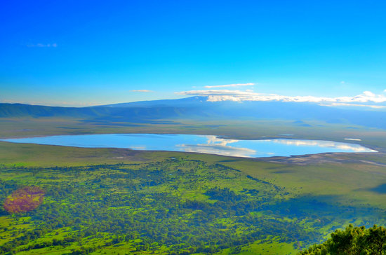Ngorongoro Conservation Area, Tanzania:                   Truly, God's Own Crater!