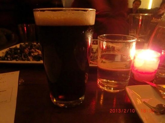 The Misfit Restaurant & Bar:                   Alesmith nautical nut brown ale(cali 4.8%)