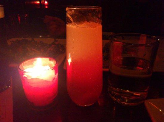 The Misfit Restaurant & Bar:                   Bijou(house infused grapefruit vodka, sparklingwine)