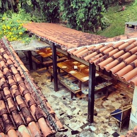 Hotel Fazenda Sitio Nosso Paraiso :                   Das Essen ist fertig! Und immer so lecker!