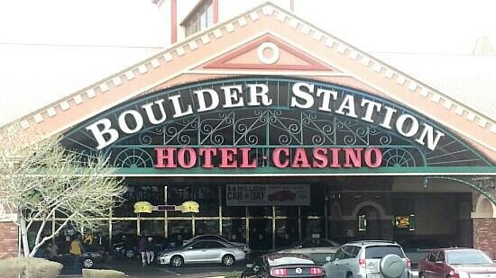Boulder Station Hotel and Casino:                   front entrance
